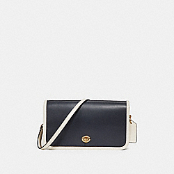 COACH F28358 Penny Crossbody MIDNIGHT/CHALK/LIGHT GOLD