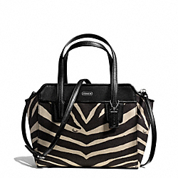 COACH F28461 Taylor Zebra Bette Mini Tote Crossbody