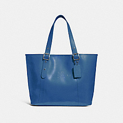 COACH F28471 - FERRY TOTE INK BLUE/BLACK ANTIQUE NICKEL