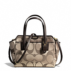 COACH F28641 Taylor Signature Bette Mini Tote Crossbody