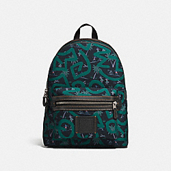 COACH X KEITH HARING ACADEMY BACKPACK - F28757 - JI/BLACK HULADANCE