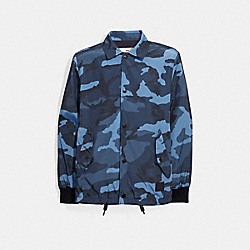 NYLON COACH JACKET - f28843 - DUSK CAMO