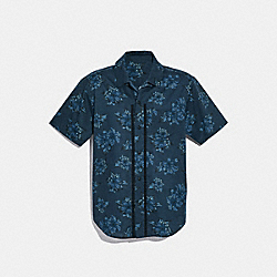 PRINTED SHORT SLEEVE SHIRT - f28845 - LI7