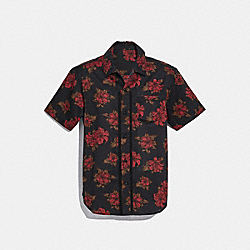 COACH F28845 Printed Short Sleeve Shirt NH0