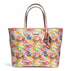 COACH F28908 - METRO FLORAL PRINT TOTE ONE-COLOR