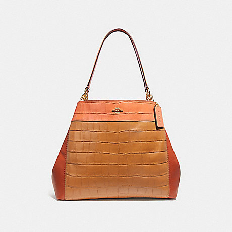 COACH f28933 LEXY SHOULDER BAG IN COLORBLOCK IMMU4