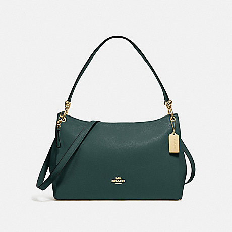 COACH F28966 MIA SHOULDER BAG IM/EVERGREEN