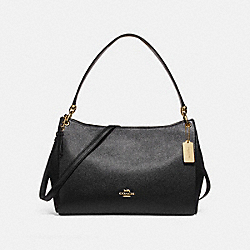 MIA SHOULDER BAG - f28966 - BLACK/IMITATION GOLD