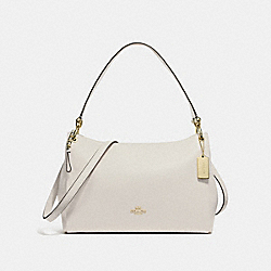 MIA SHOULDER BAG - f28966 - CHALK/IMITATION GOLD