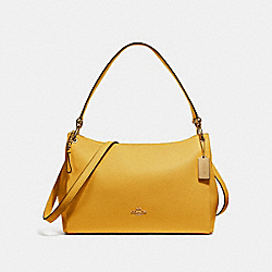 COACH F28966 Mia Shoulder Bag GOLDENROD/LIGHT GOLD