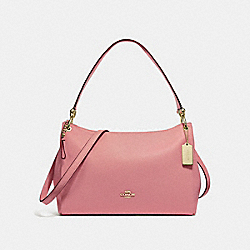 COACH F28966 Mia Shoulder Bag VINTAGE PINK/IMITATION GOLD