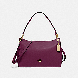 COACH F28966 - MIA SHOULDER BAG IM/DARK BERRY