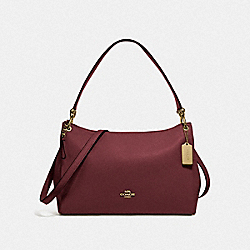 COACH F28966 Mia Shoulder Bag IM/WINE