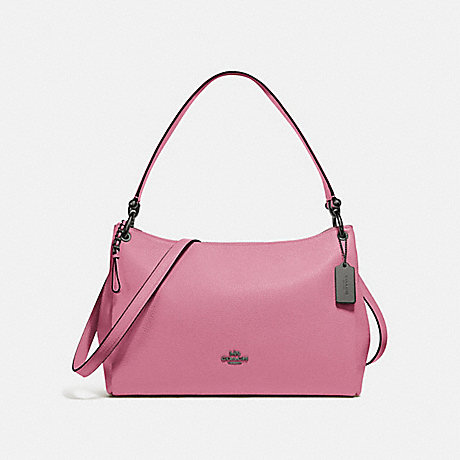 COACH F28966 MIA SHOULDER BAG QB/PINK ROSE