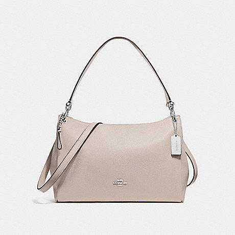 COACH F28966 MIA SHOULDER BAG GREY-BIRCH/SILVER