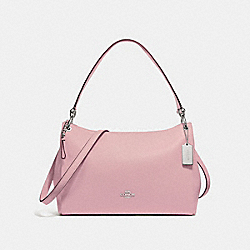 COACH F28966 Mia Shoulder Bag CARNATION/SILVER