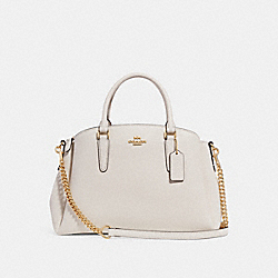 COACH F28976 - SAGE CARRYALL CHALK/LIGHT GOLD