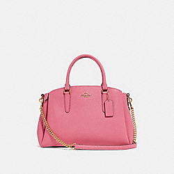 SAGE CARRYALL - F28976 - STRAWBERRY/IMITATION GOLD