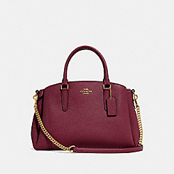 COACH F28976 - SAGE CARRYALL WINE/IMITATION GOLD