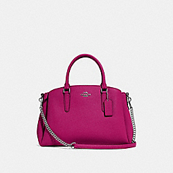 SAGE CARRYALL - F28976 - CERISE/SILVER