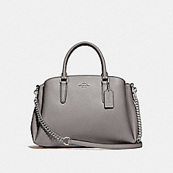 COACH F28976 - SAGE CARRYALL HEATHER GREY/SILVER