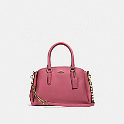 COACH F28977 - MINI SAGE CARRYALL ROUGE/GOLD