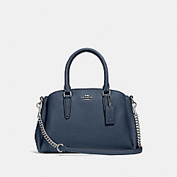 MINI SAGE CARRYALL - F28977 - DENIM/SILVER