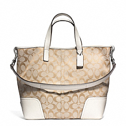 COACH F28981 - HADLEY SIGNATURE DUFFLE ONE-COLOR