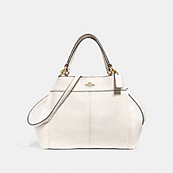 SMALL LEXY SHOULDER BAG - f28992 - CHALK/LIGHT GOLD