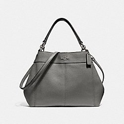 SMALL LEXY SHOULDER BAG - F28992 - HEATHER GREY/SILVER