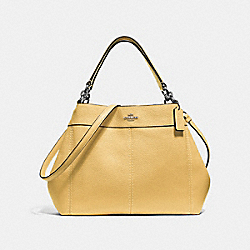SMALL LEXY SHOULDER BAG - F28992 - LIGHT YELLOW/SILVER