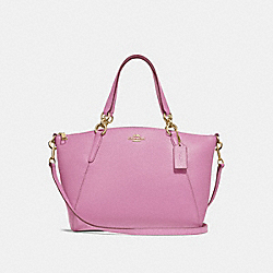 SMALL KELSEY SATCHEL - F28993 - PRIMROSE/LIGHT GOLD