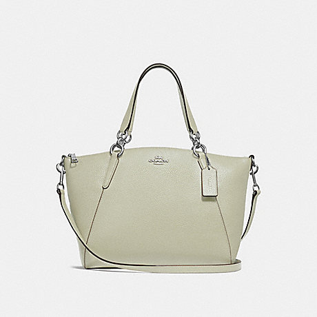 COACH F28993 SMALL KELSEY SATCHEL PALE GREEN/SILVER
