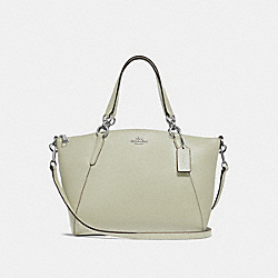 SMALL KELSEY SATCHEL - F28993 - PALE GREEN/SILVER