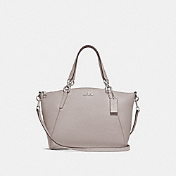 SMALL KELSEY SATCHEL - F28993 - GREY BIRCH/SILVER