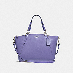 SMALL KELSEY SATCHEL - F28993 - LIGHT PURPLE/SILVER