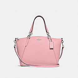 SMALL KELSEY SATCHEL - F28993 - CARNATION/SILVER