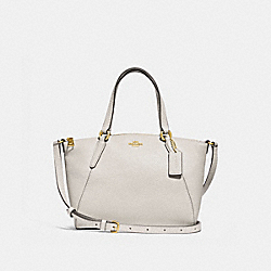 MINI KELSEY SATCHEL - F28994 - CHALK/IMITATION GOLD