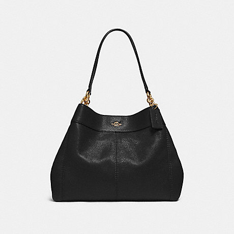 COACH F28997 LEXY SHOULDER BAG BLACK/LIGHT-GOLD