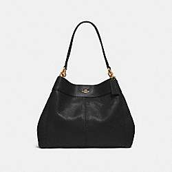 COACH F28997 Lexy Shoulder Bag BLACK/IMITATION GOLD