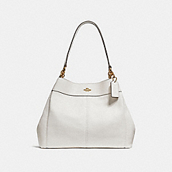 COACH F28997 Lexy Shoulder Bag CHALK/IMITATION GOLD
