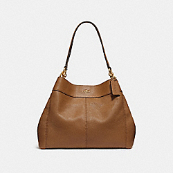 LEXY SHOULDER BAG - f28997 - LIGHT SADDLE/IMITATION GOLD