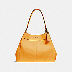 COACH F28997 Lexy Shoulder Bag GOLDENROD/LIGHT GOLD