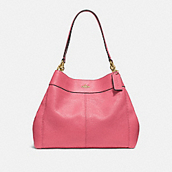 COACH F28997 Lexy Shoulder Bag PEONY/LIGHT GOLD