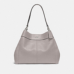 COACH F28997 Lexy Shoulder Bag GREY BIRCH/SILVER