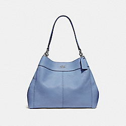 LEXY SHOULDER BAG - F28997 - DARK PERIWINKLE/SILVER