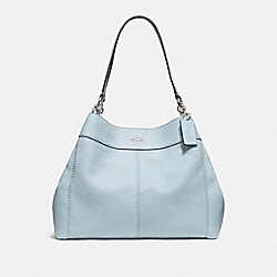 COACH F28997 Lexy Shoulder Bag SILVER/PALE BLUE