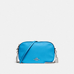 ISLA CHAIN CROSSBODY - f29000 - BRIGHT BLUE/SILVER