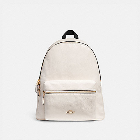 COACH F29004 CHARLIE BACKPACK CHALK/LIGHT-GOLD