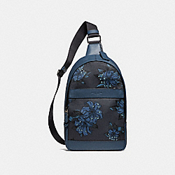 CHARLES PACK WITH HAWAIIAN LILY PRINT - f29027 - QBNI9